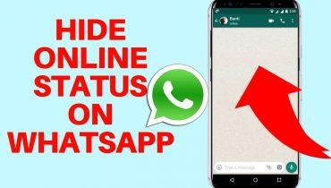 WhatsApp online status