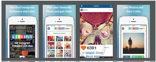 Instagram liker app