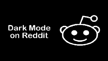 Reddit dark mode